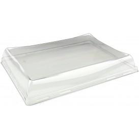 Tapa de Plastico PET Bandeja de 220x160mm (300 Uds)