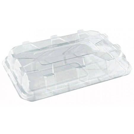 Tapa de Plastico Transparente para Bandeja de 35x24x8 cm (25 Uds)