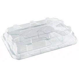 Tapa de Plastico Transparente para Bandeja de 35x24x8 cm (50 Uds)