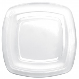 Tapa de Plastico Transp. para Plato PET 230mm (150 Uds)