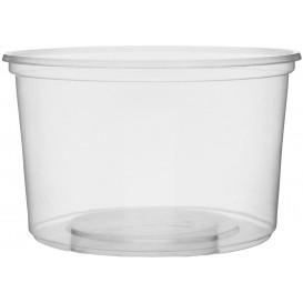 Tarrina de Plastico Transparente 300ml Ø10,5cm (50 Uds)