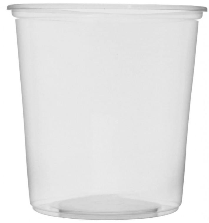 Tarrina de Plastico Transparente 500ml Ø10,5cm (1.000 Uds)