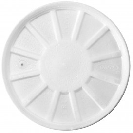 Tapa Isotérmica con Respidadero Blanca Ø11cm (500 Uds)