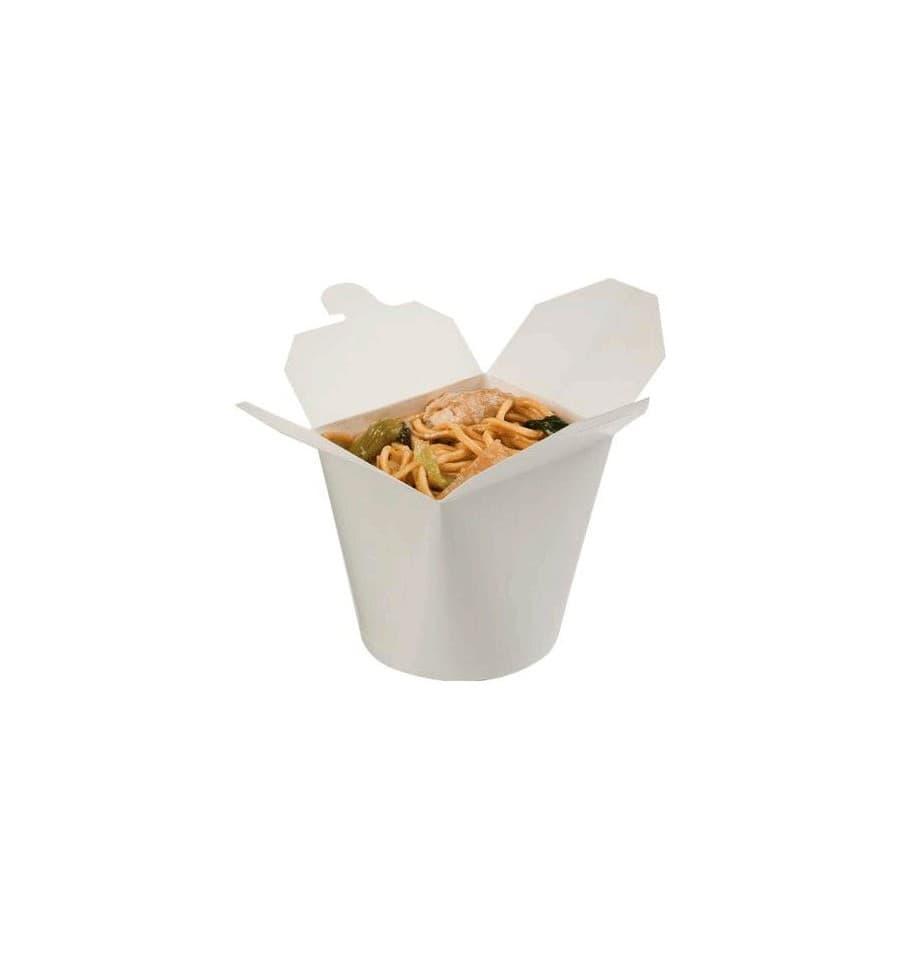 Envase de comida para llevar blanco 529ml 50 uds - Envases para llevar ...