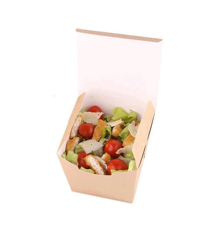 Caja de Comida para Llevar Wok Kraft 950ml (100 Uds)