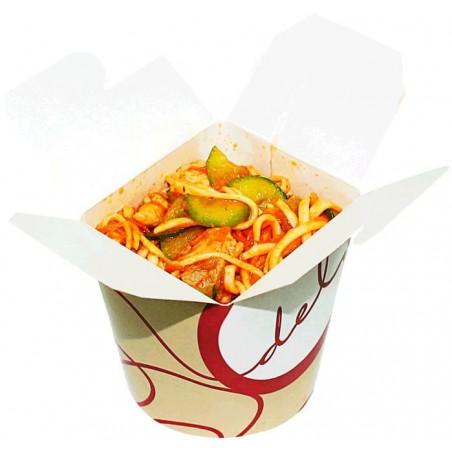 """Envase de Comida para Llevar """"Deli"""" 800ml (50 Uds)"""