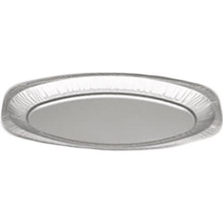 Bandeja Ovalada de Aluminio 1650ml (100 Uds)