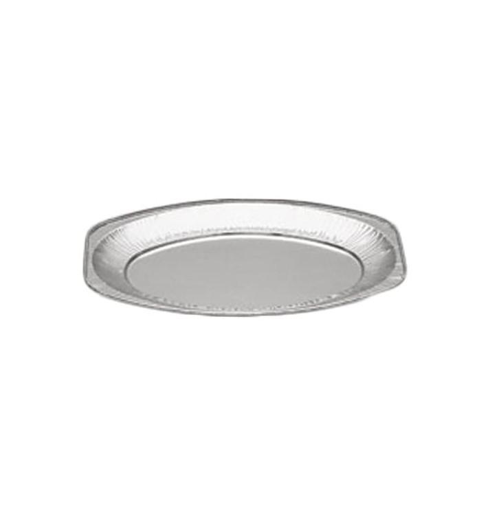 Bandeja Ovalada de Aluminio 870ml (10 Uds)