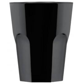 Vaso de Plastico Negre SAN Ø85mm 300ml (8 Uds)