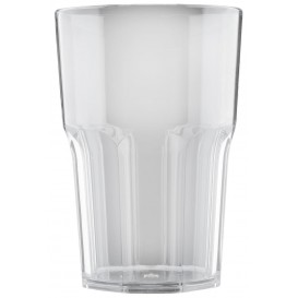 Vaso Reutilizable SAN Granity Transparente 400 ml (75 Uds)