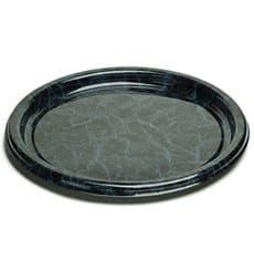 Bandeja Plastico Redonda Marmol 34 cm (50 Uds)
