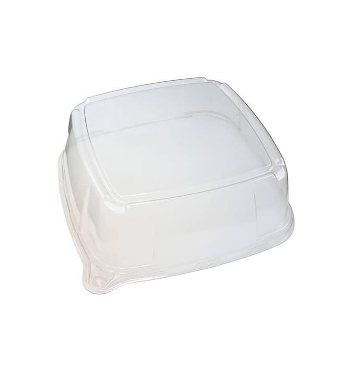 Tapa de Plastico para Bandeja de 27x27x8 cm (5 Uds)