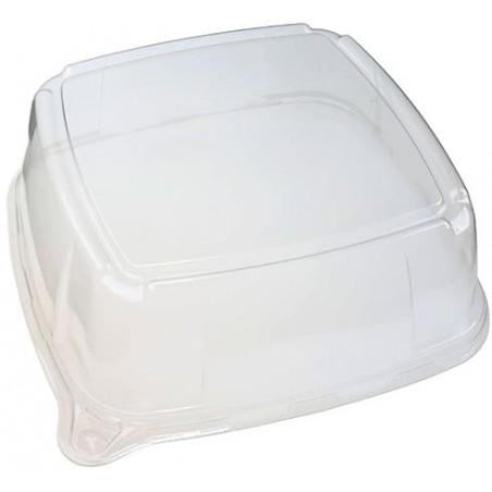 Tapa de Plastico para Bandeja 35x35x9 cm (25 Uds)