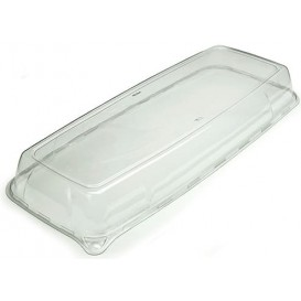 Tapa de Plastico para Bandeja 22x56x6 cm (5 Uds)