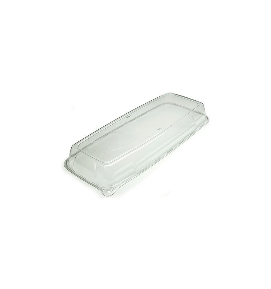 Tapa de plastico para bandeja 22x56x6 cm 25 uds - Bandeja de plastico ...