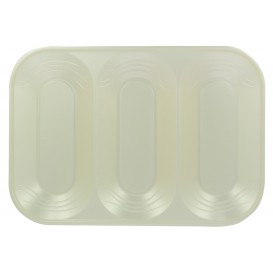 "Bandeja Plastico PP ""X-Table"" 3C Perla 330x230mm (30 Uds)"