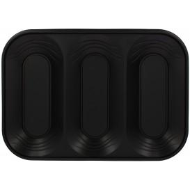 "Bandeja Plastico PP ""X-Table"" 3C Negro 330x230mm (30 Uds)"
