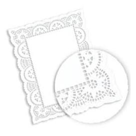 Blonda de Papel calada blanca LITOS 35,5x46cm (250 Uds)