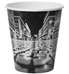 "Vaso Cartón 6Oz/180ml ""Parisian"" Ø7,9cm (1000 Uds)"
