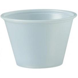 Tarrina de Plastico PS para Salsas 75ml Ø66mm (2500 Uds)