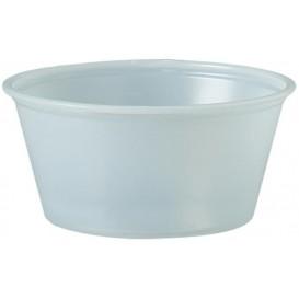 Tarrina de Plastico PS para Salsas 100ml Ø73mm (250 Uds)