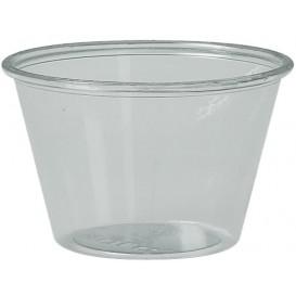 Tarrina de Plastico PET para Salsas 120ml Ø74mm (250 Uds)