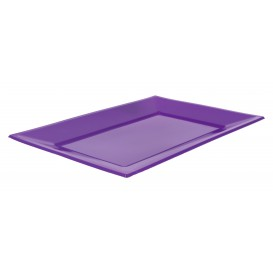 Bandeja de Plastico Lila 330x225mm (25 Uds)