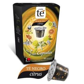 Cápsulas Nespresso* Compatible Té Negro Citrus (10 Uds)
