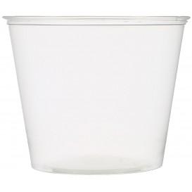 Tarrina para Salsas PET Cristal 165ml Ø7,3cm (250 Uds)