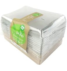 Kit Bandejas Caña de Azúcar+tapa 220x160x60mm (6 Kits)