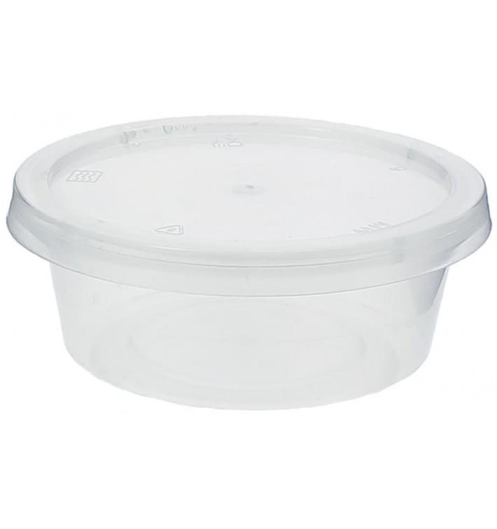 Tarrina Plastico Salsas con Tapa 85ml (100 Uds)