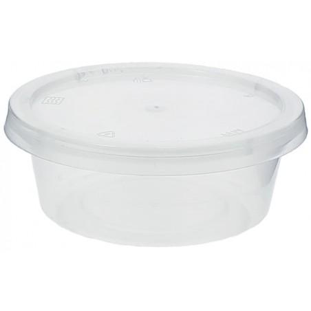 Tarrina Plastico Salsas con Tapa 85ml (1.000 Uds)