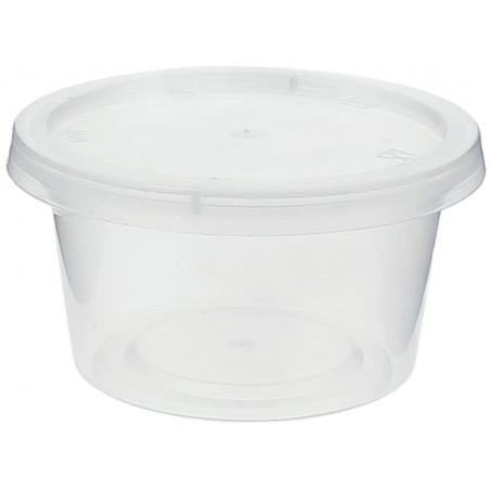 Tarrina Plastico Salsas con Tapa 120ml (100 Uds)