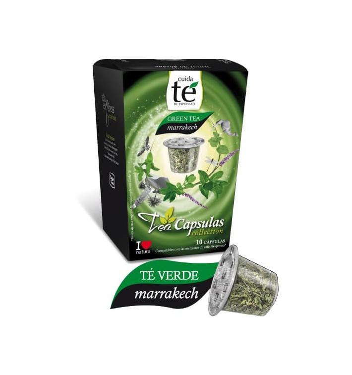 Cápsulas Nespresso* Compatible Té Verde Marrakech (10 Uds)