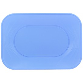 """Bandeja de Plastico PP """"X-Table"""" Violeta 330x230mm (2 Uds)"""
