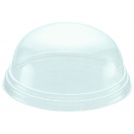 Tapa Cupula Cerrada para Tarrina Cartón 6oz/175ml (100 Uds)