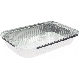 Bandeja Aluminio 15C. 1500ml 280x180x37mm (500 Uds)