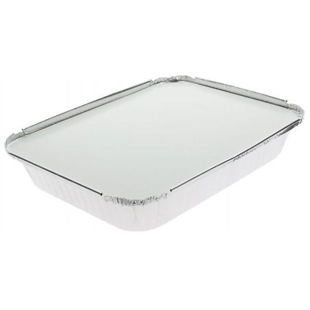 Tapa para Bandeja Aluminio 12C. 1180ml (100 Uds)
