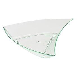 "Triangulo Degustacion ""Water Green"" 12,5x12x2cm (576 Uds)"