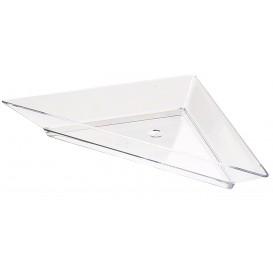 Plato Degustacion Plastico Triangular 5x10cm (576 Uds)