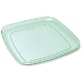 "Bandeja Cuadrada Dura ""Water Green"" 35x35cm (25 Uds)"