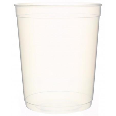 Tarrina Plastico Transparente PP 1000 ml Ø11,5cm (250 Uds)