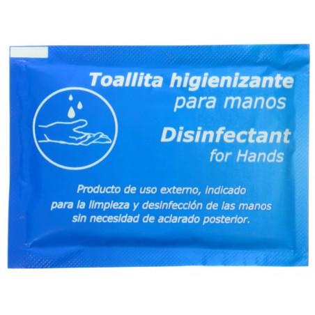 Toallitas Desinfectantes e Higienizantes (500 Uds)