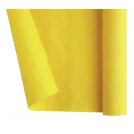 Mantel de Papel Rollo Amarillo 1,2x7m (25 Uds)