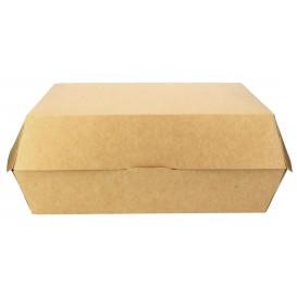 Caja Kraft para Hamburguesa Gigante 23x17,5x8 cm (200 Uds)