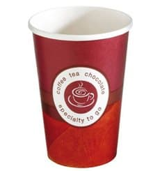 "Vaso Cartón 14 Oz/420ml ""Specialty to go"" Ø9cm (1000 Uds)"