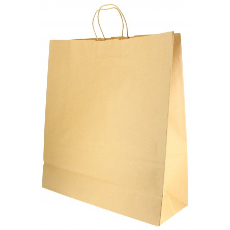 Bolsa Papel Kraft con Asas 100g 46+16x49 cm (200 Uds)