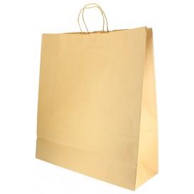 Bolsa Papel Kraft con Asas 100g 46+16x49 cm (50 Uds)