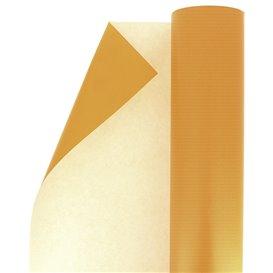 Rollo de Papel para Regalo Celulosa Naranja 100 m (1 Ud)
