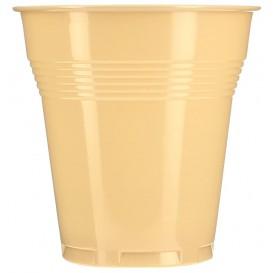 Vaso de Plastico PS Vending Crema 166 ml Ø7,0cm (100 Uds)